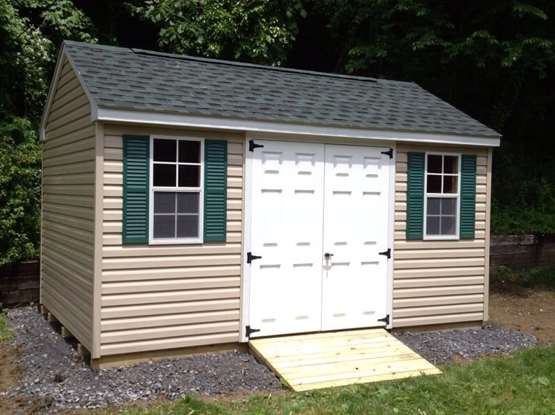 Gable Roof Storage Shed For Sale