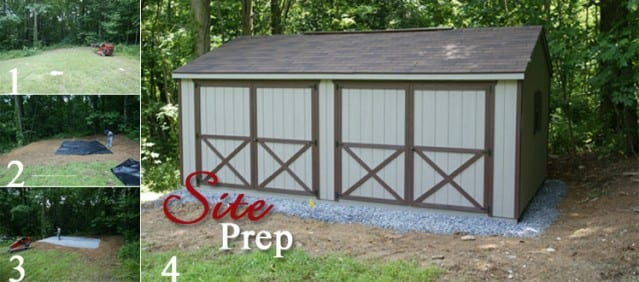 Storage Shed Gravel Site Preparation - 4-Outdoor (301) 898-3400