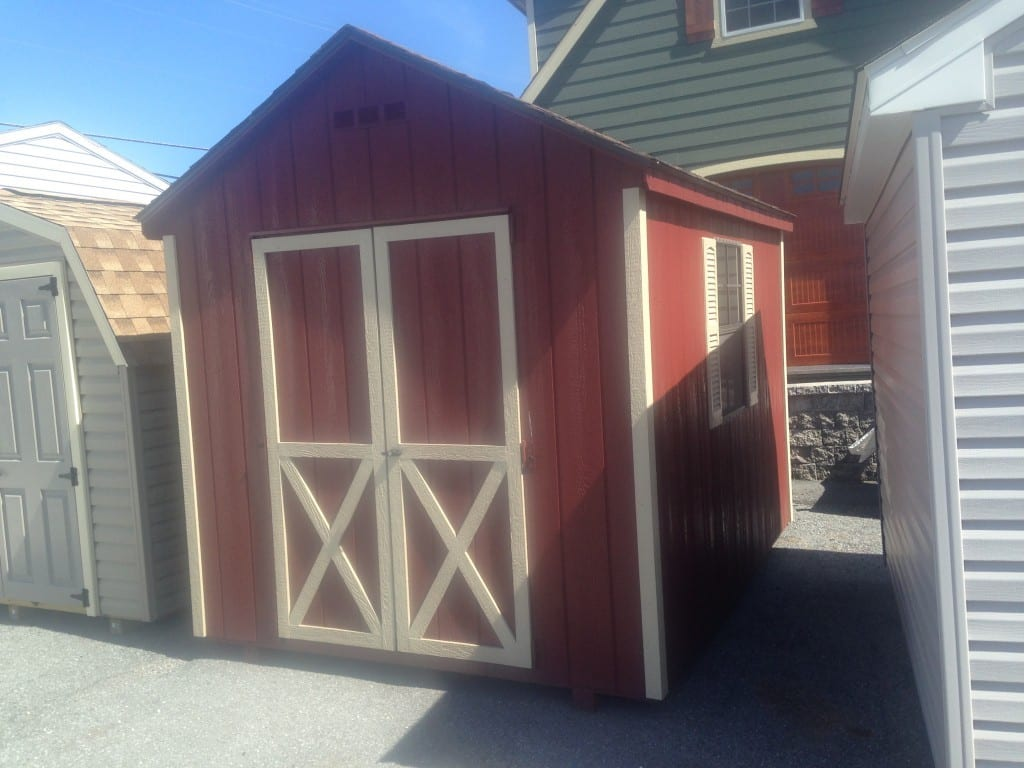 8x10 A-Frame Utility shed for sale cheap