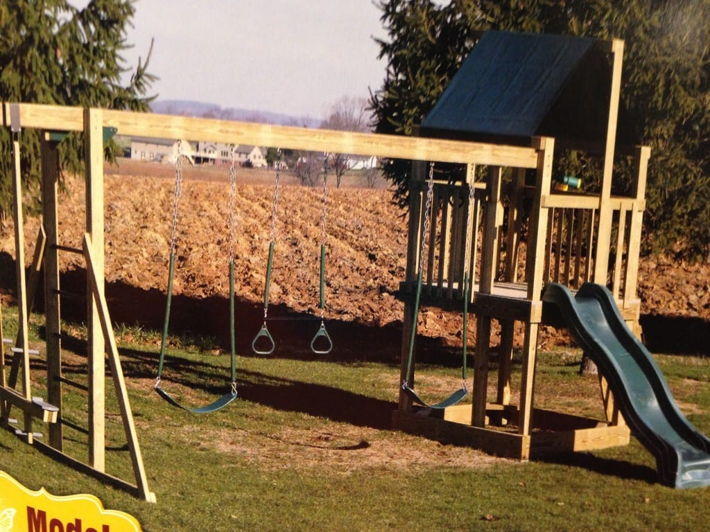 Wood Playset for sale in Frederick md, model 2600