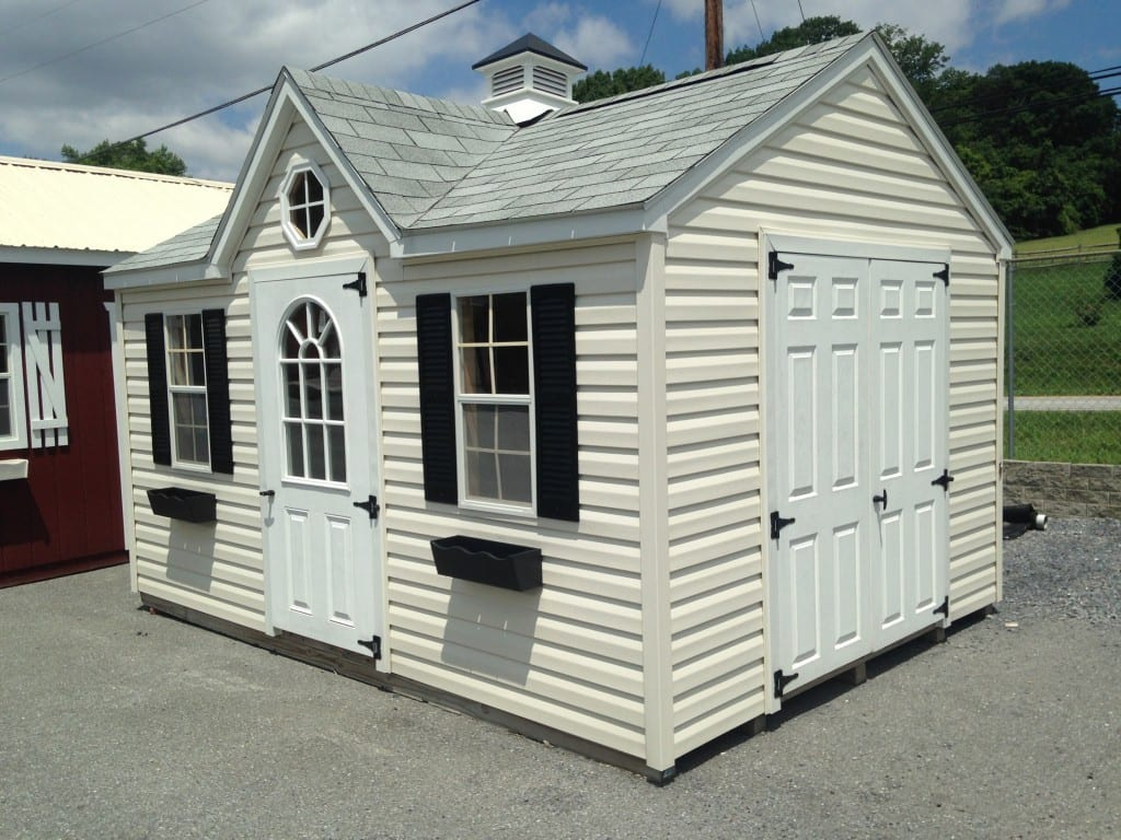 Viny Victorian Portable Storage Shed for sale 2014-06-14 11.58.38