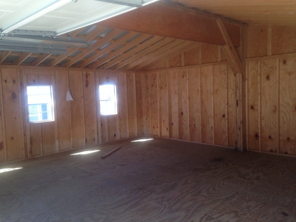prefab two car garage for sale cheap