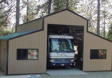 Metal RV Storage